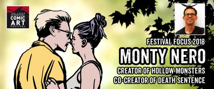Lakes Festival Focus: Comics artist and writer Monty Nero