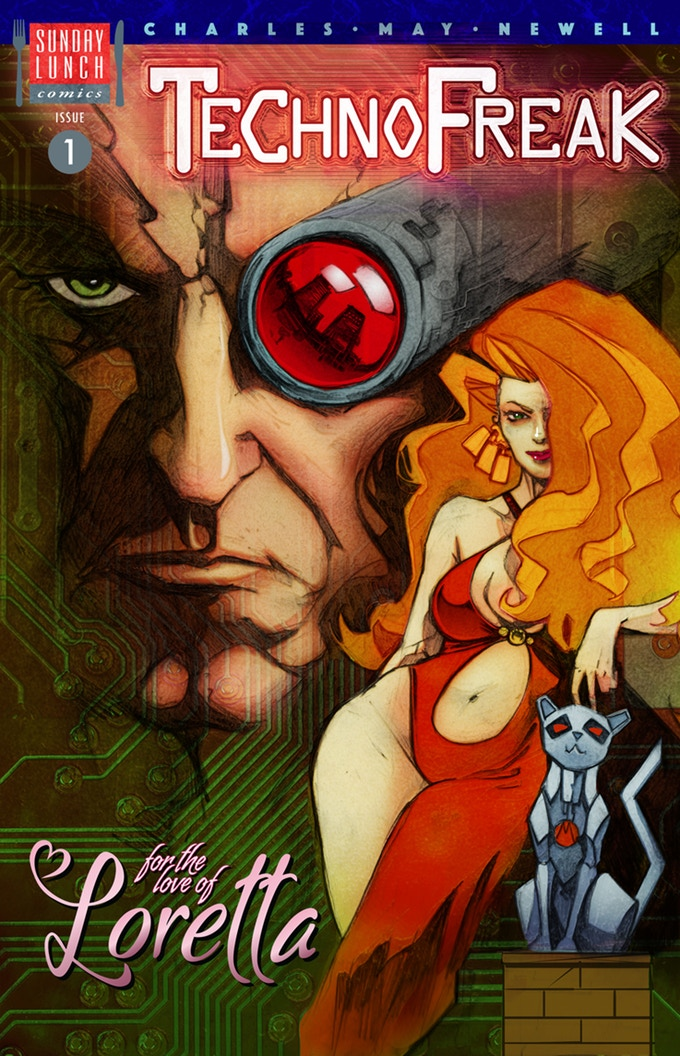 TechnoFreak Issue One - Cover