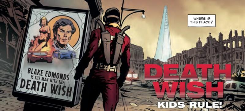 The Vigilant - Death Wish: Kids Rule!