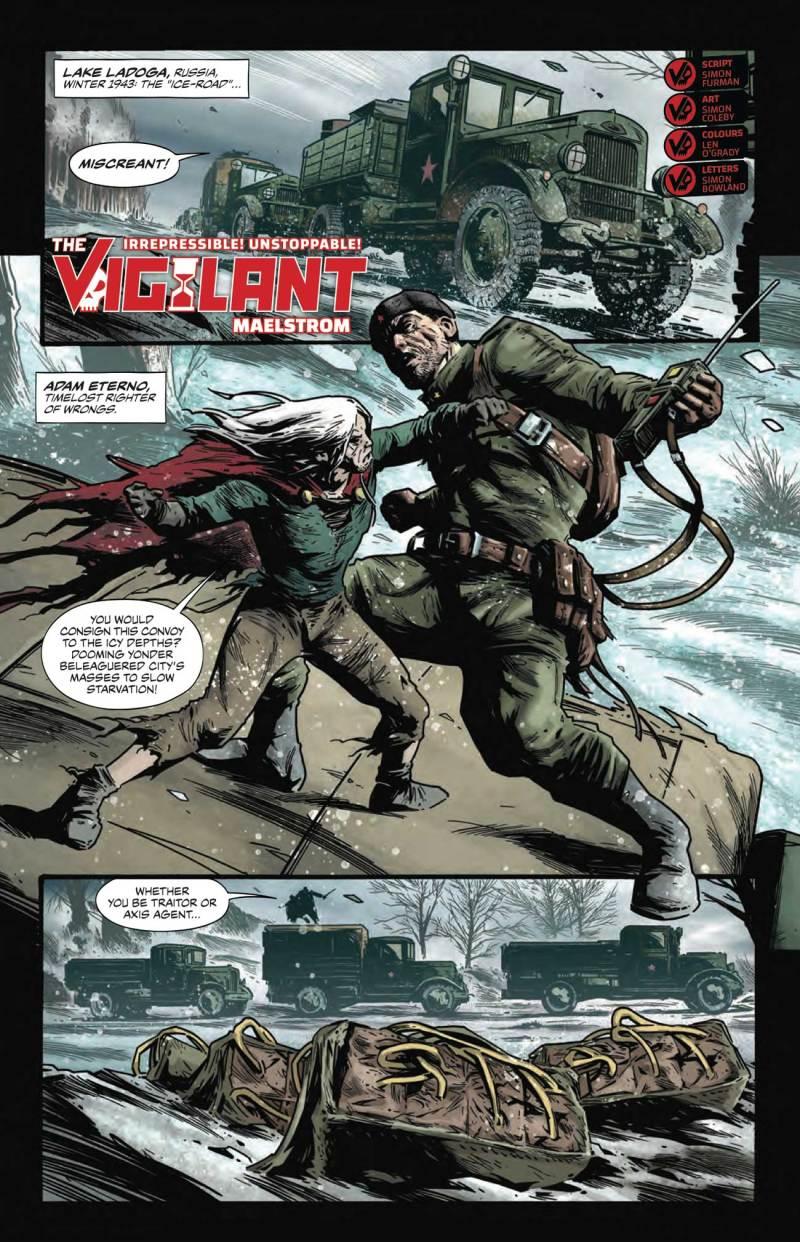 The Vigilant - Preview