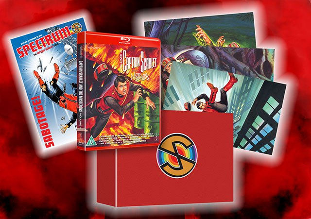 Captain Scarlet and the Mysterons 4 Limited Edition Blu-Ray Pack Shot
