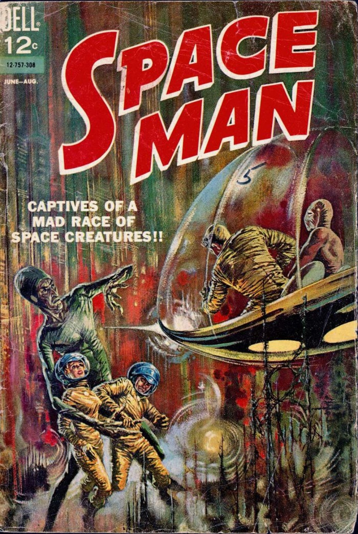 Space Man #5 - Dell, 1963