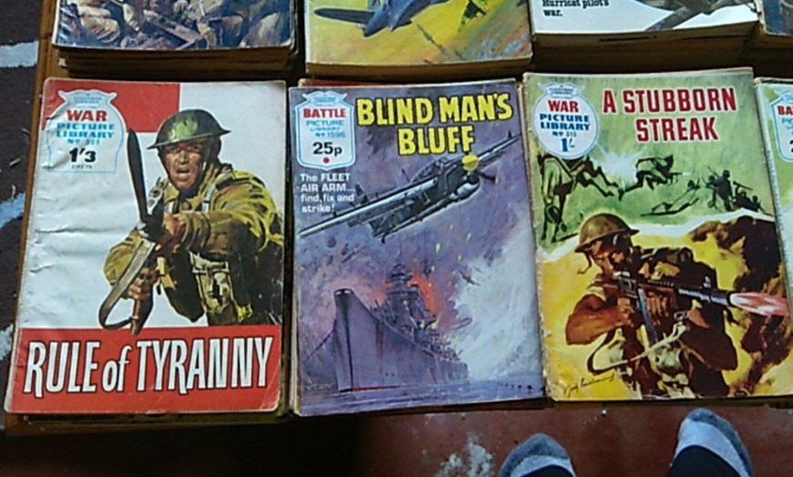 British War Picture Library Comics