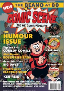 ComicScene UK #2 - Cover