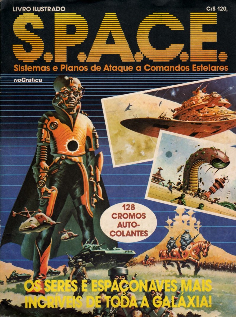 SPACE album - art by Ian Kennedy