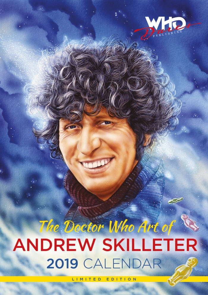 The Doctor Who Art of Andrew Skilleter 2019 Limited Edition Calendar