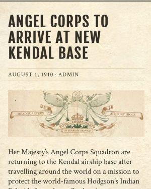 Clockwork Watch - Angel Corps - Kendal