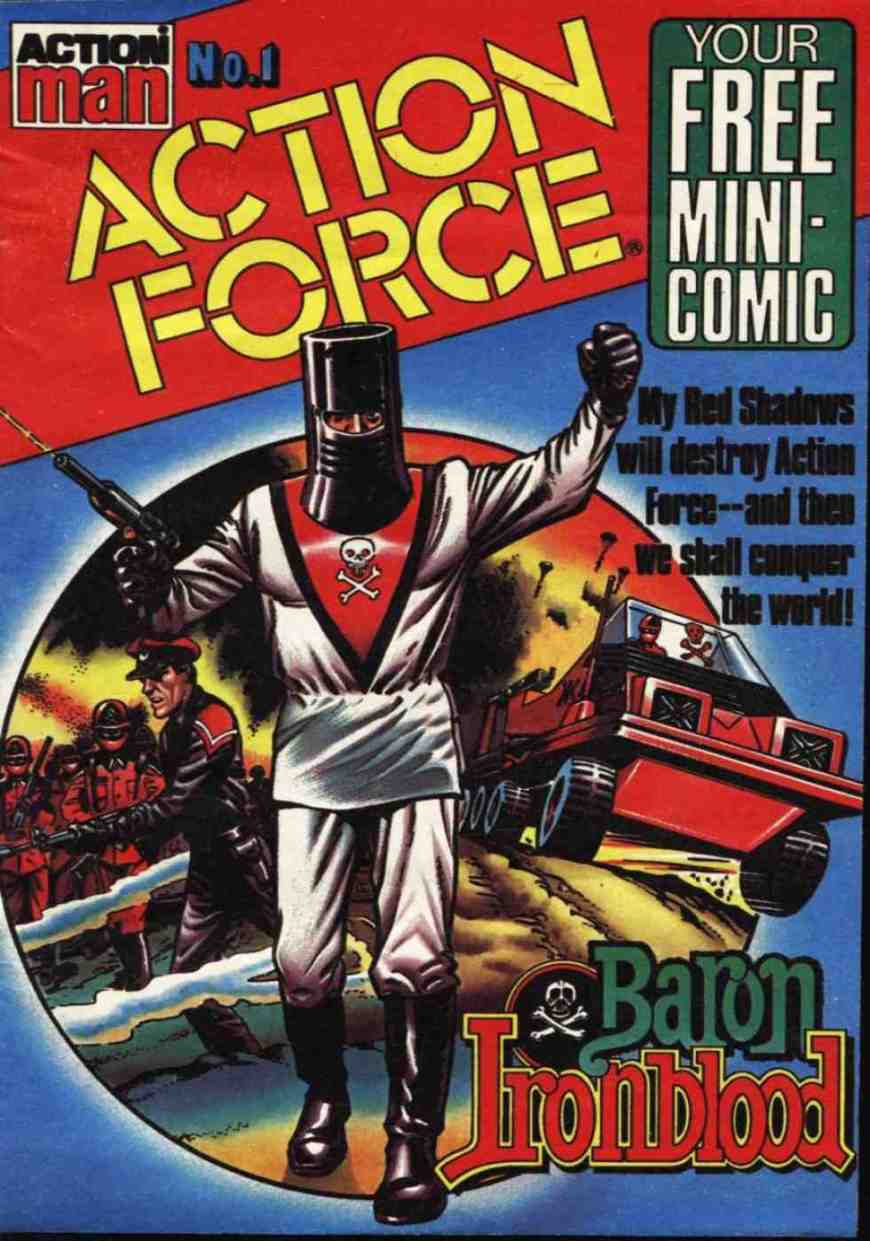 Battle Action Force Mini-Comic