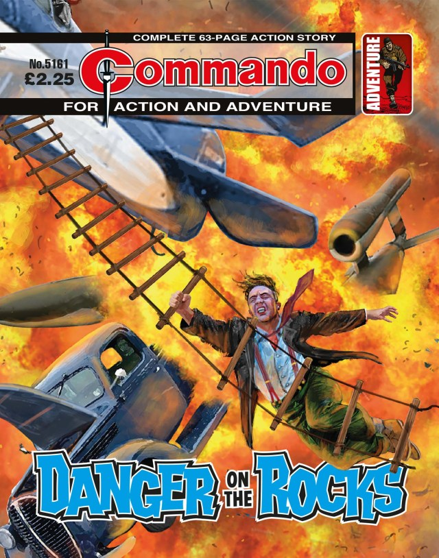 Commando 5161: Action and Adventure: Danger on the Rocks