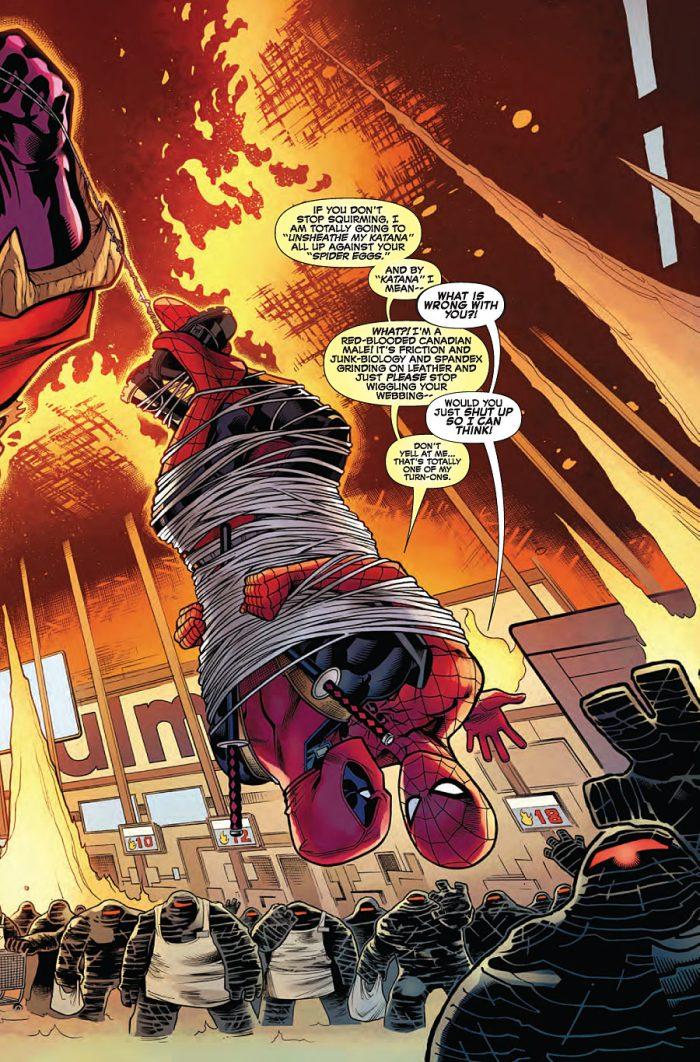 Deadpool/Spider-Man Art