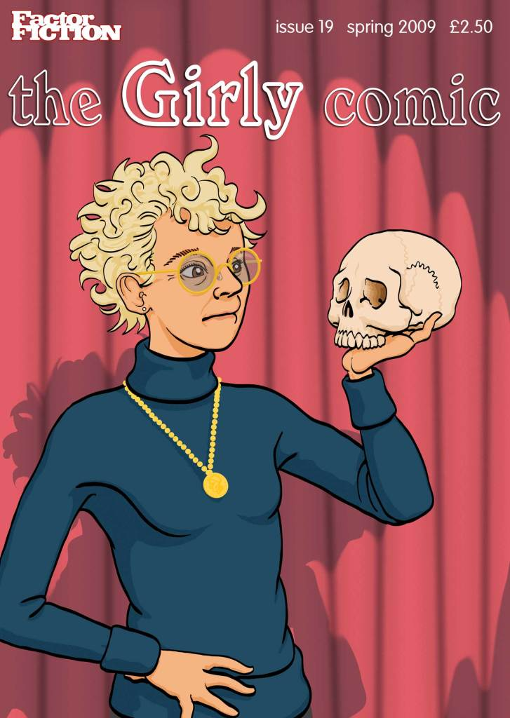 Girly Comic 19 - Cover by Terry Wiley