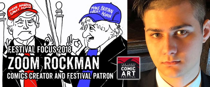Lakes Festival Focus 2018: Zoom Rockman