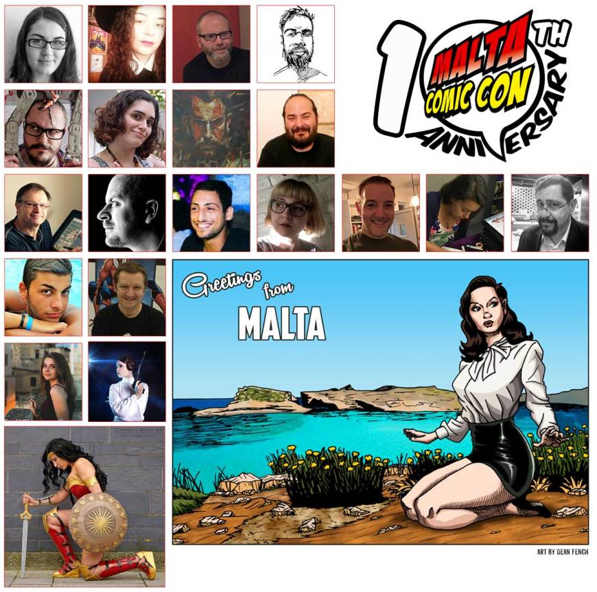 Malta Comic Convention 2018 - First Wave