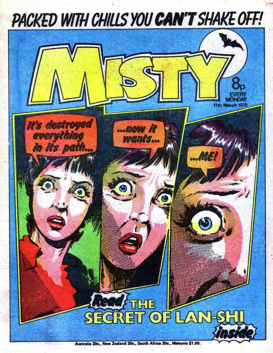 Misty Issue 6 - Cover