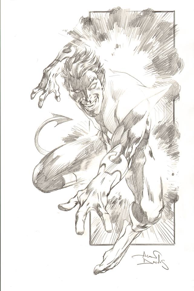 Nightcrawler by Alan Davis