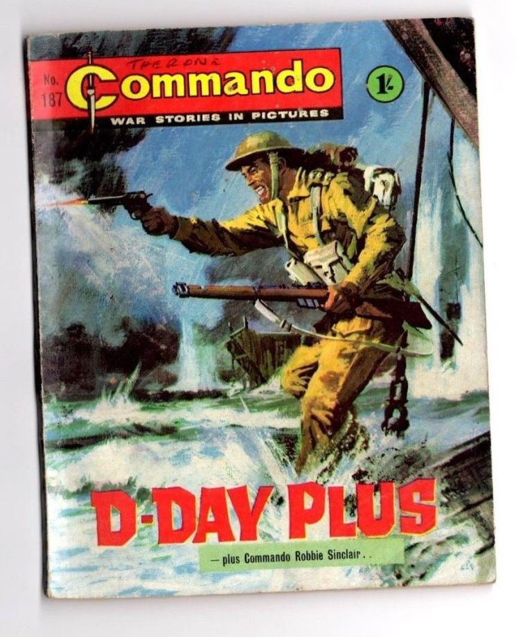 "Commando 187 - ""D-Day Plus"""