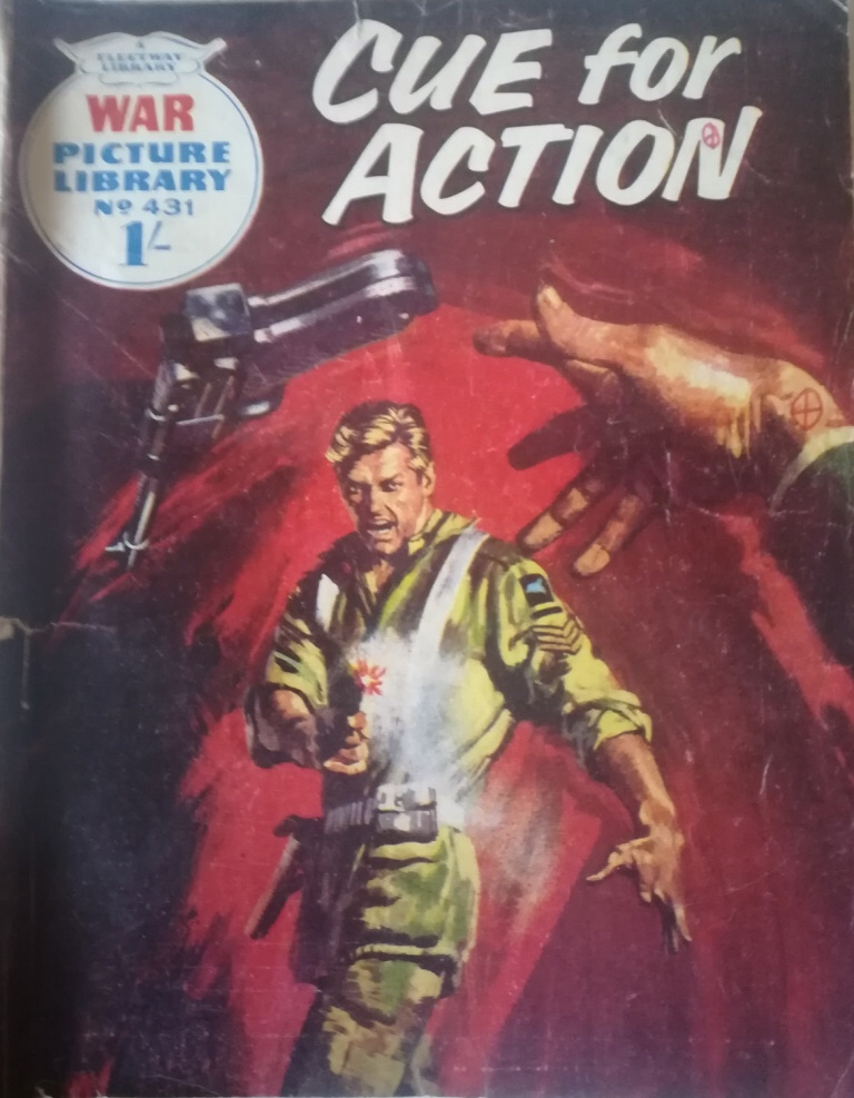"""War Picture Library 431 - """"Cue for Action"""""""