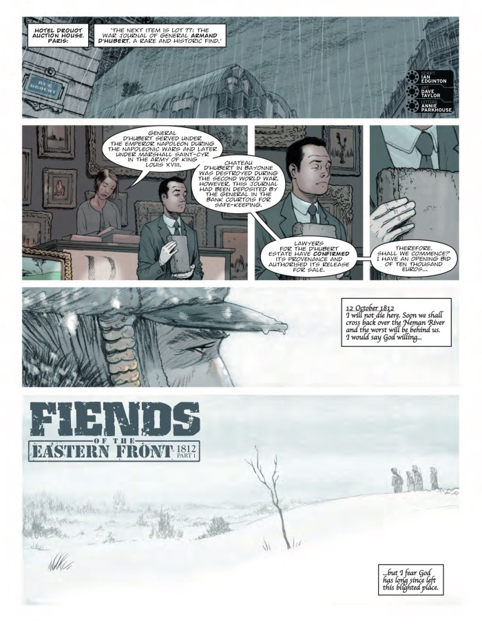 2000AD Prog 2100 - Fiends of the Eastern Front