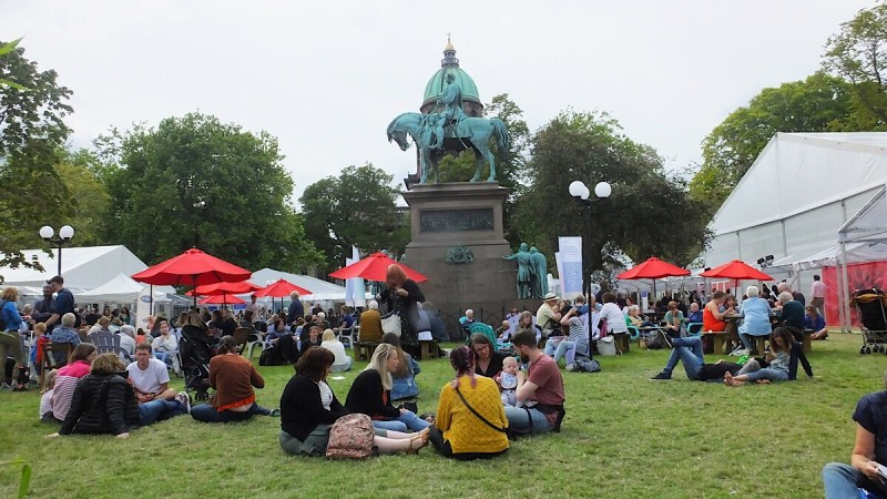 In Review and in Pictures: Edinburgh International Book Festival 2018