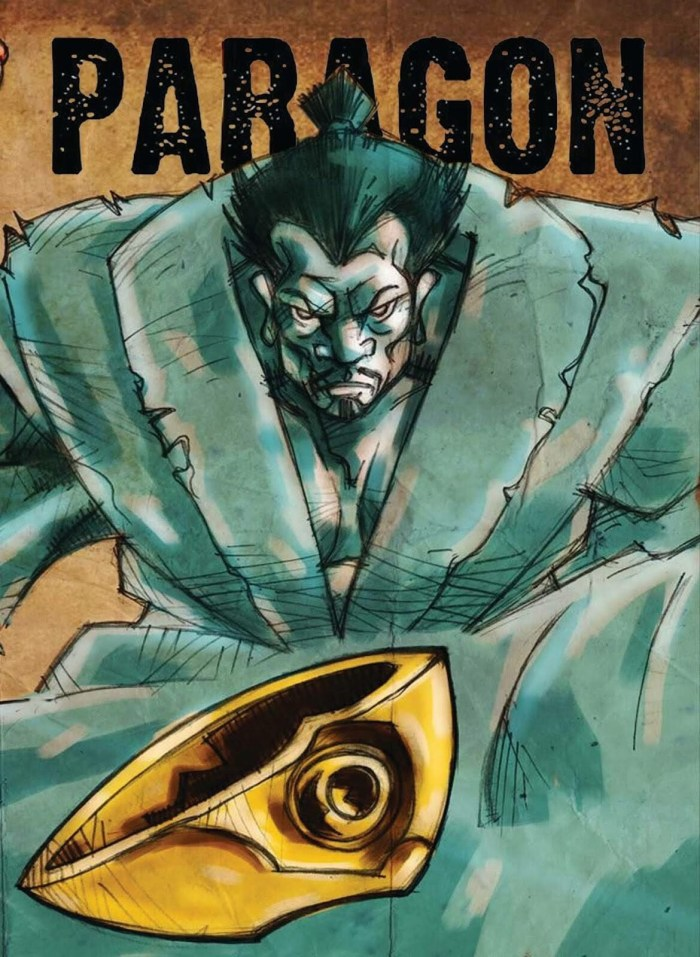 Paragon Issue 22 - Cover
