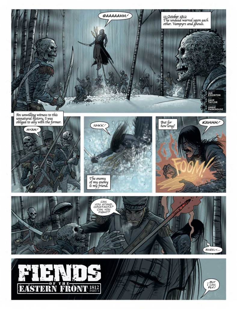 2000AD 2102 - Fiends of the Eastern Front