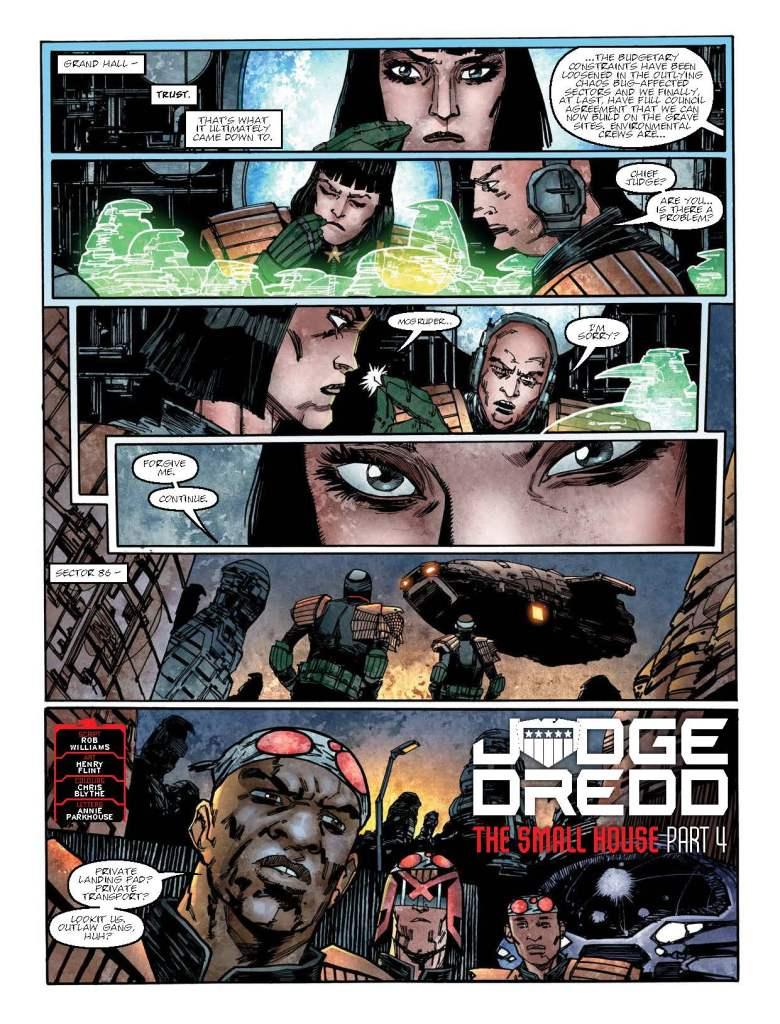 2000AD 2103 - Judge Dredd