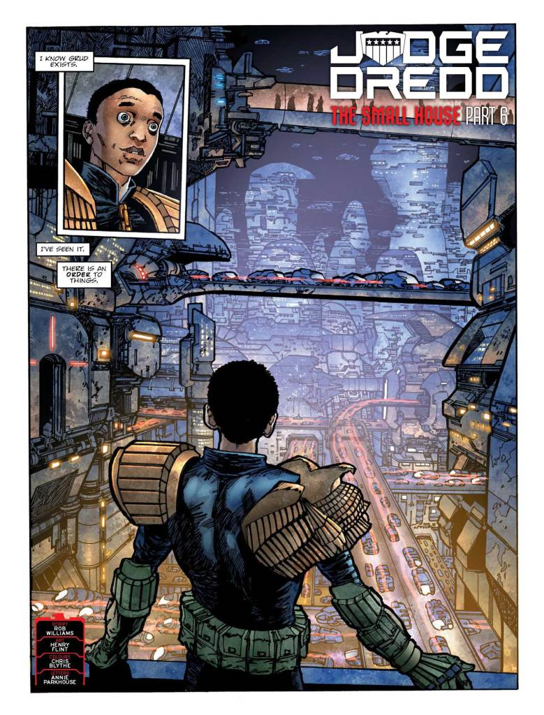 2000AD-2105 - Judge Dredd » The Small House (part 6)