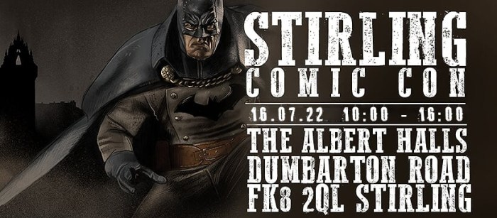 BGCP Comic Con 2022 - Stirling
