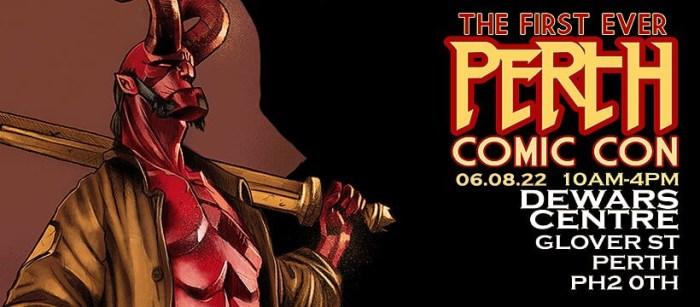 Perth Comic Con 2022 - BGCP Event