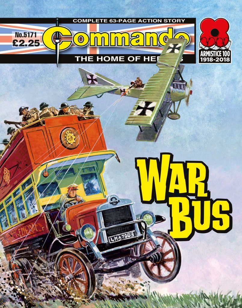 Commando 5171: Home of Heroes: War Bus
