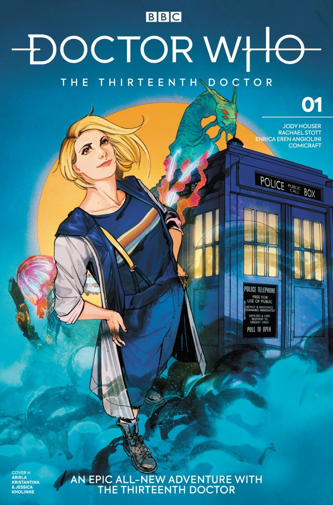 Doctor Who - The Thirteenth Doctor #1 Cover H - Ariela Kristantina and Jessica Kholinne