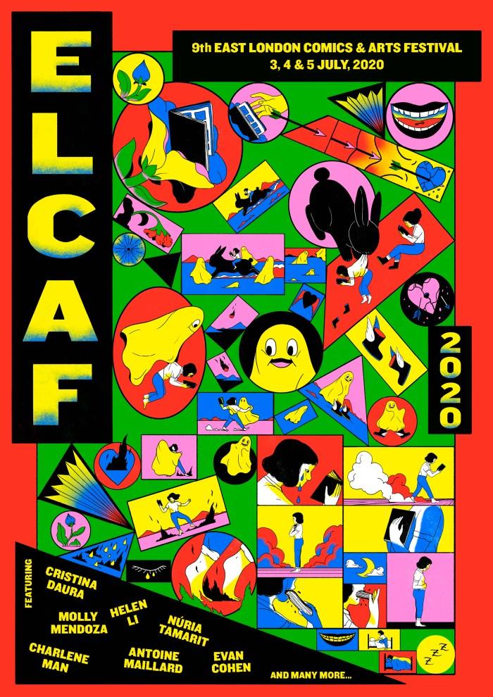 ELCAF Poster 2020 by Cristina Daura