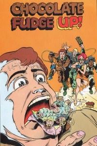The Real Ghostbusters Annual - Chocolate Fudge-Up