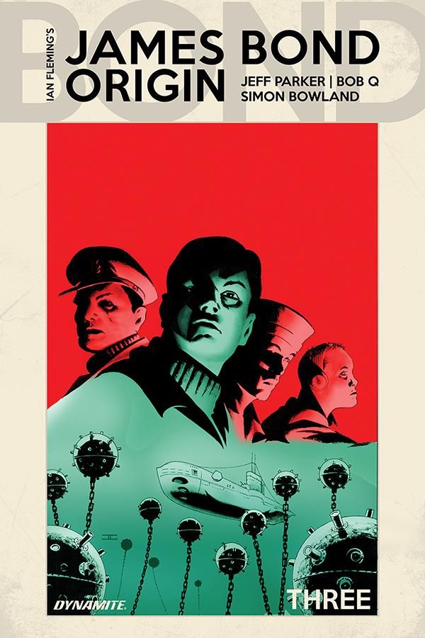 James Bond Origin #3 - Cover