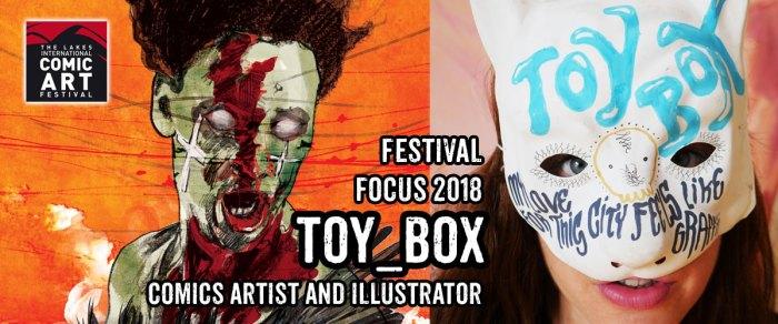 Lakes Festival Focus 2018: Czech Comic Creator Toy_Box