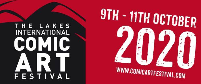 Lakes International Comics Art Festival 2020