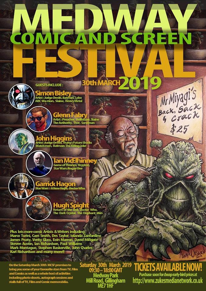 Medway Comic and Screen Festival 2019
