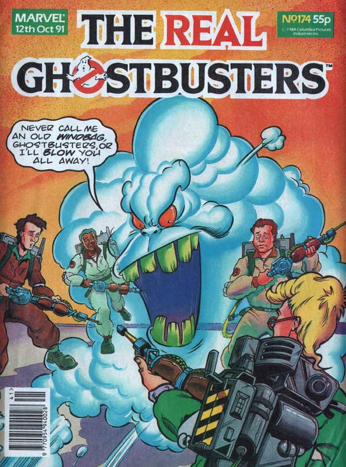 The Real Ghostbusters Issue 174