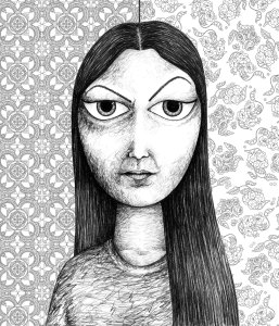 Sayra Begum - Self Portrait