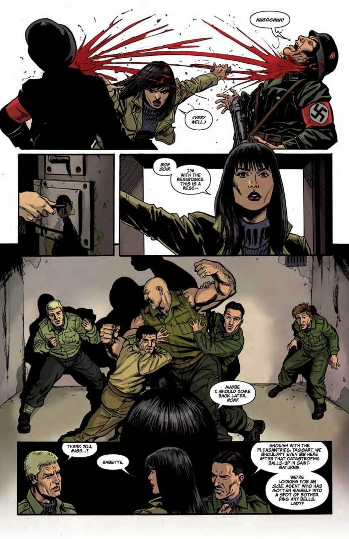 Sniper Elite - Resistance #3 - Sample Art