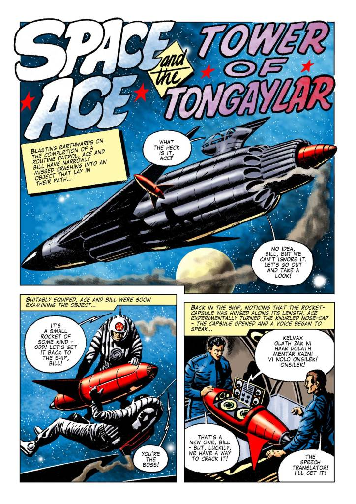 "Space Ace 11 - ""Tower of Tongaylar"""