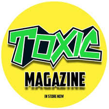 TOXIC  Comic Badge