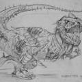 """""""Dino-Wars"""", by Pat Mills and Dan Dare artistDavid Pugh - Furrysaurs"""