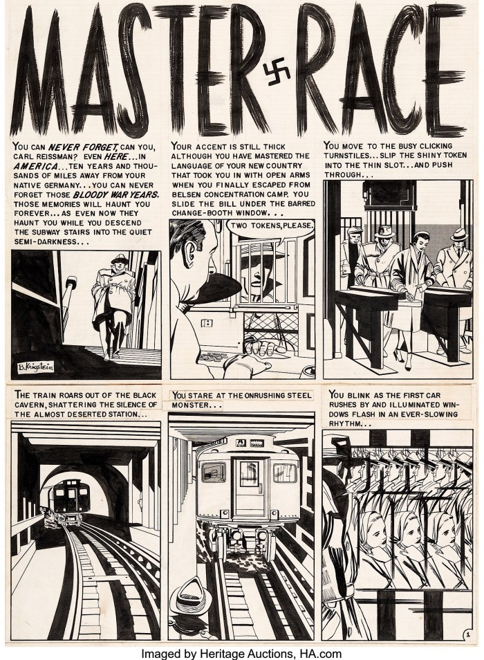 """Master Race"" by Bill Gaines, Al Feldstein and Bernie Krigstein"