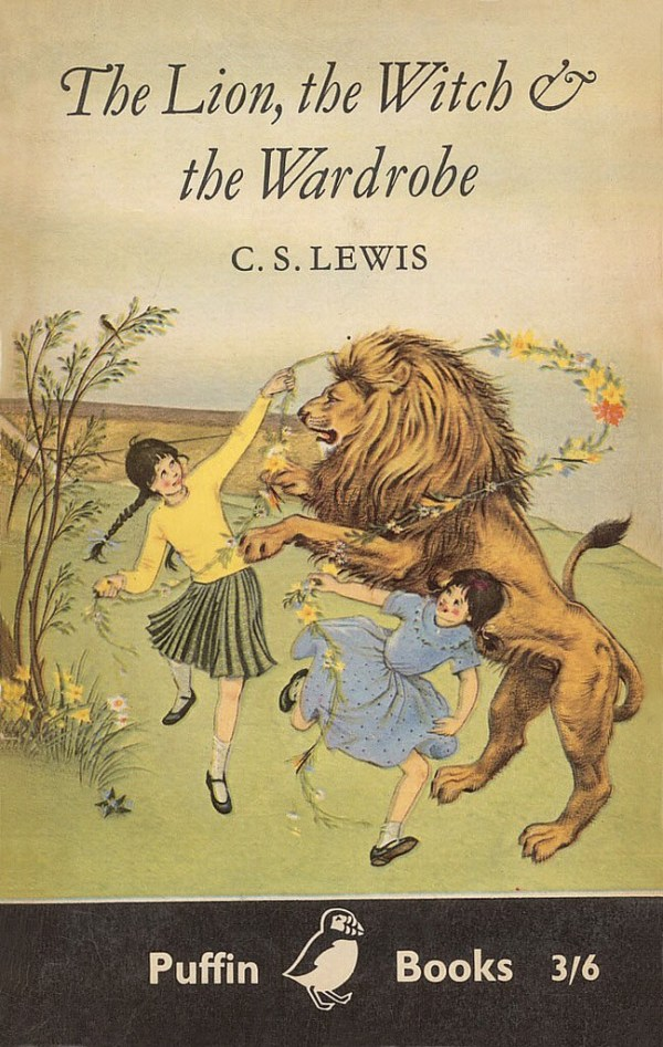 Puffin Books: The Lion, the Witch and the Wardrobe Cover