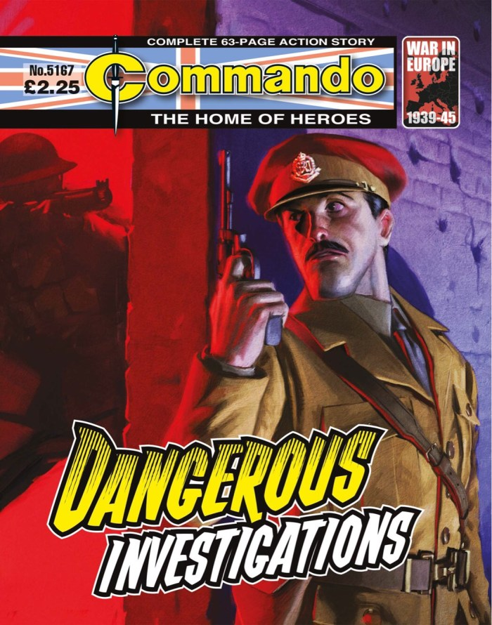 Commando 5167: Home of Heroes: Dangerous Investigations