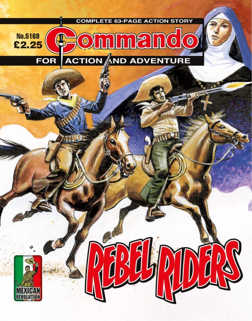 Commando 5169: Action and Adventure: Rebel Riders