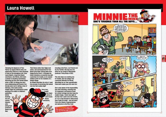 Minnie the Minx - Sample Spread