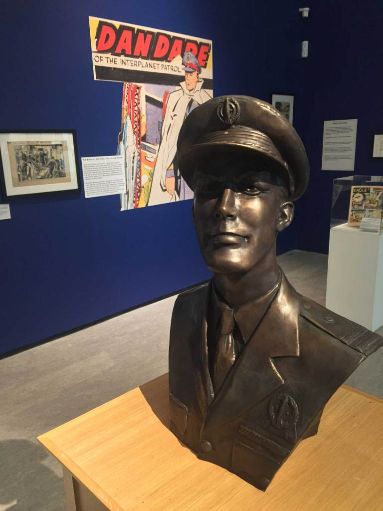 Frank Hampson Exhibition - The Atkinson 2018 - Dan Dare Bust