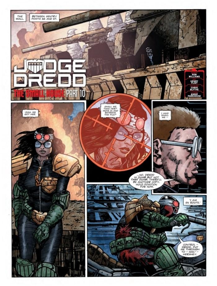 2000AD 2109 - Judge Dredd